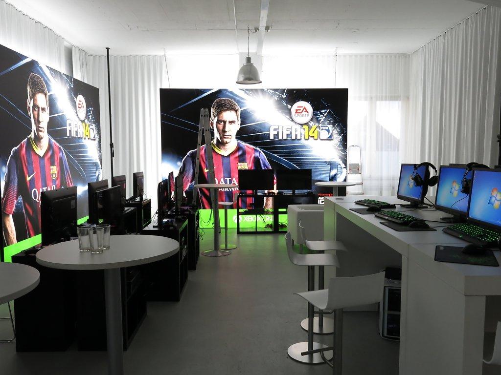 Presse Event EA Sports